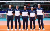 David Fernández àrbitre de la Volley Nations League