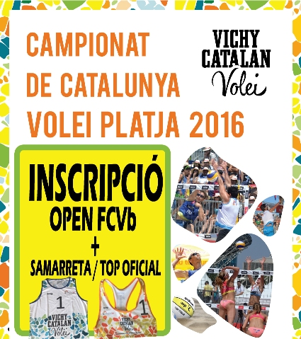 INSCRIPCIÓN OPEN FCVb + CAMISETA / TOP OFICIAL