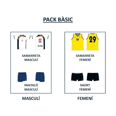 PACK BÀSIC SCORE