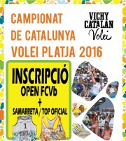 INSCRIPCIÓN VICHY VOLEI TOUR + CAMISETA / TOP OFICIAL