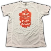 SAMARRETA ´KEEP CALM AND PLAY VOLLEYBALL´ taronja