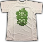 SAMARRETA ´KEEP CALM AND PLAY VOLLEYBALL´ verda